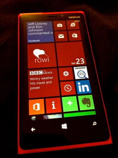 The Nokia 920, customised to taste